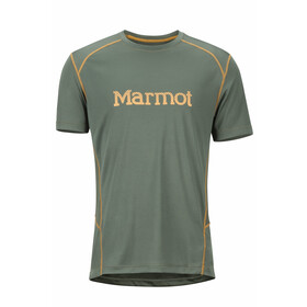 Marmot Windridge SS Shirt Men with Graphic Crocodile